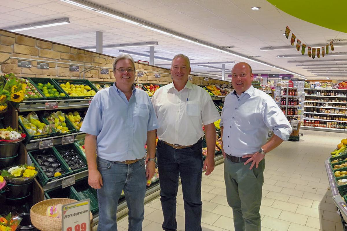Klaus Michallik, Frank Oesterhelweg und Holger Bormann