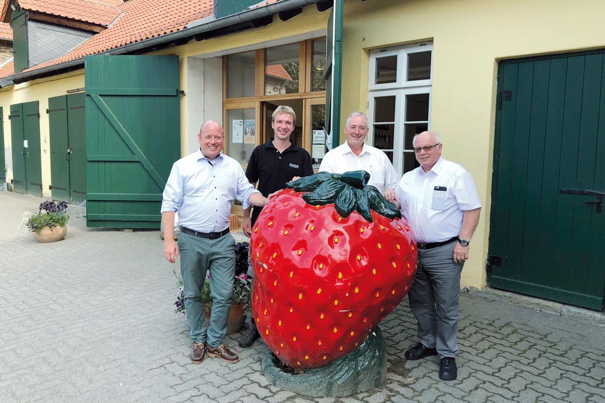Holger Bormann, Johannes Weber, Frank Oesterhelweg und Wolfgang Gürtler