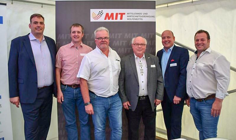Der MIT-Vorstand freute sich über ein gelungenes Forum mit guter Beteiligung.